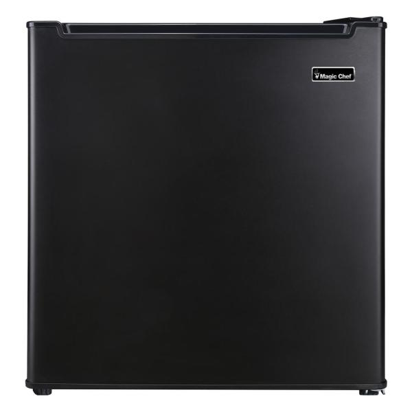 Magic Chef 1.7 Cu. Ft. Freezerless Mini Fridge In Black-hmar170be - Home Depot