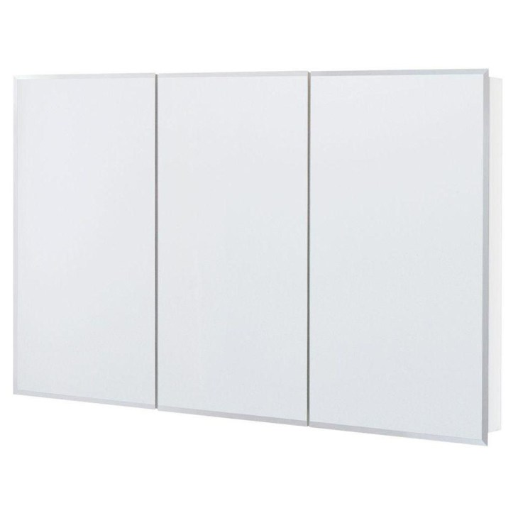 Frameless Surface-Mount Bathroom Medicine Cabinet