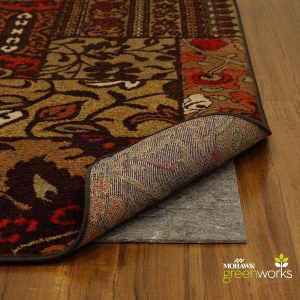 Mohawk Home 8 Ft. X 11 Supreme Dual Surface Felted Rug Pad-329693 - Depot