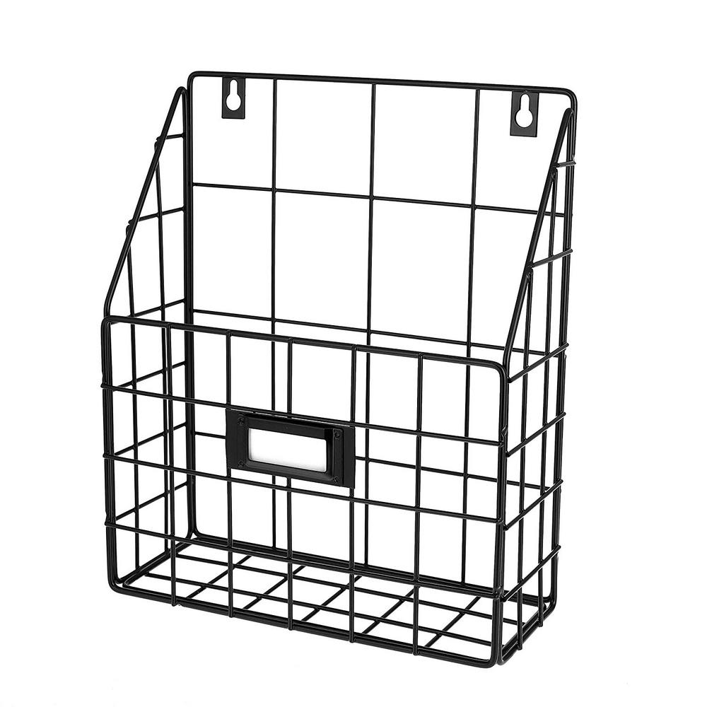 AdirHome 10.25 in. x 11.5 in. Wire Mail Single Slot Wall