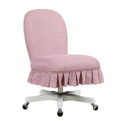 Desk Chair Pink Dental Parts Description Office Linon Home Decor Furniture The Depot Parker
