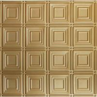 Global Specialty Products Dimensions 2 ft. x 2 ft. Brass ...