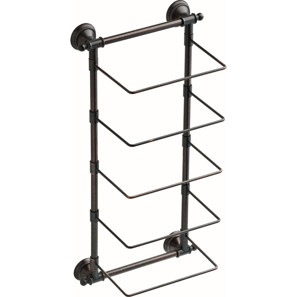 Delta 5-Bar Wall-Mounted Towel Rack in SpotShield Venetian