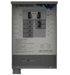 westinghouse 30 amp manual transfer switch [ 1000 x 1000 Pixel ]
