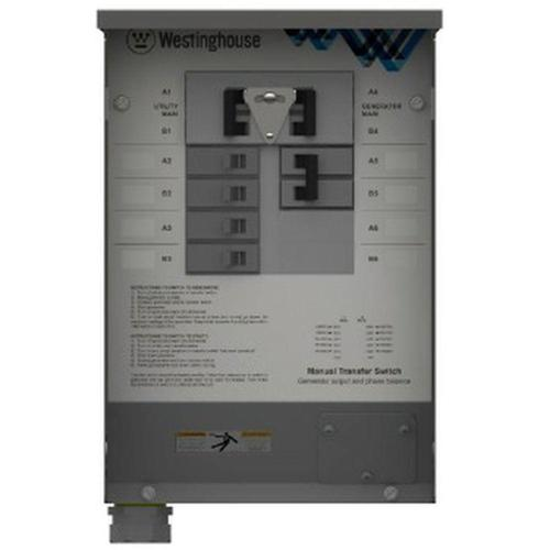 small resolution of westinghouse 30 amp manual transfer switch whmts30 the home depot