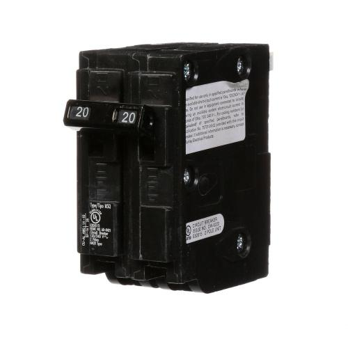small resolution of murray 20 amp double pole type msq qo replacement circuit breaker