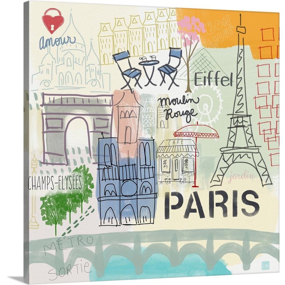 paris w words by