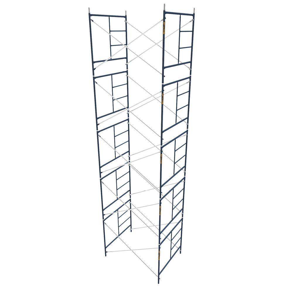 MetalTech Baker Style 6 ft. x 6 ft. x 2 ft. Utility