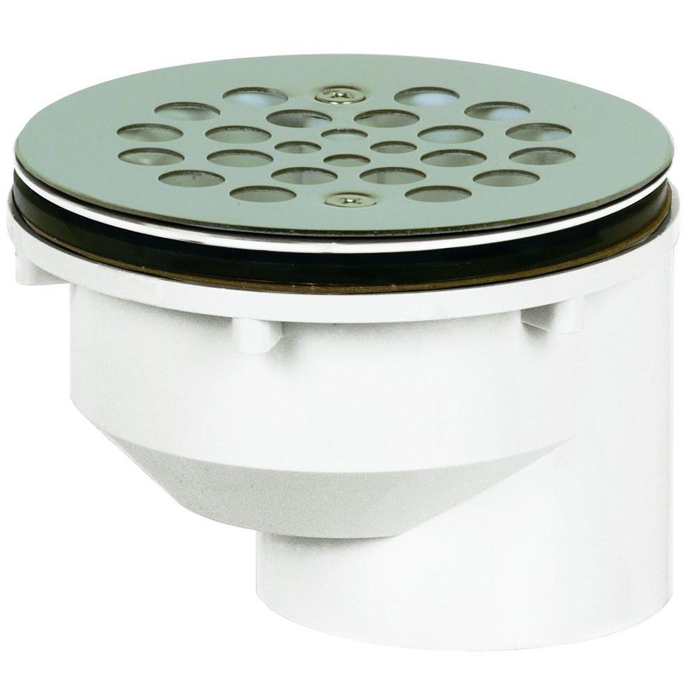 2 in. PVC Shower Drain