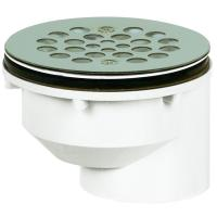 2 in. PVC Shower Drain-825-2PFS - The Home Depot