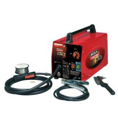 lincoln electric 88 amp weld pack hd flux core wire feed welder for welding up [ 1000 x 1000 Pixel ]