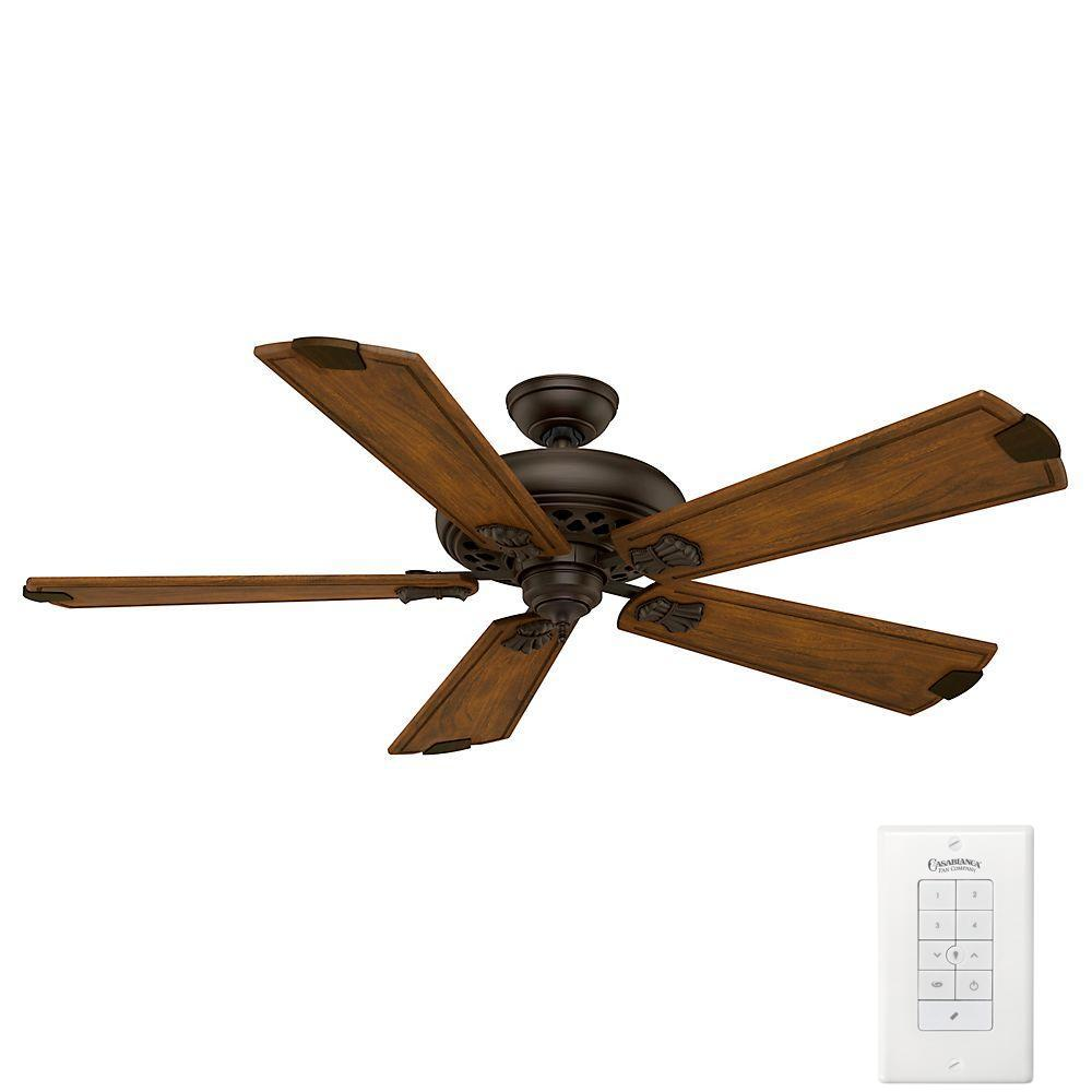 medium resolution of casablanca fellini 60 in indoor brushed cocoa bronze ceiling fan with remote