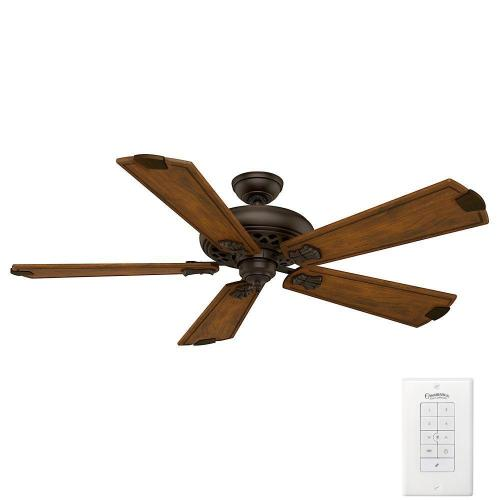 small resolution of casablanca fellini 60 in indoor brushed cocoa bronze ceiling fan with remote
