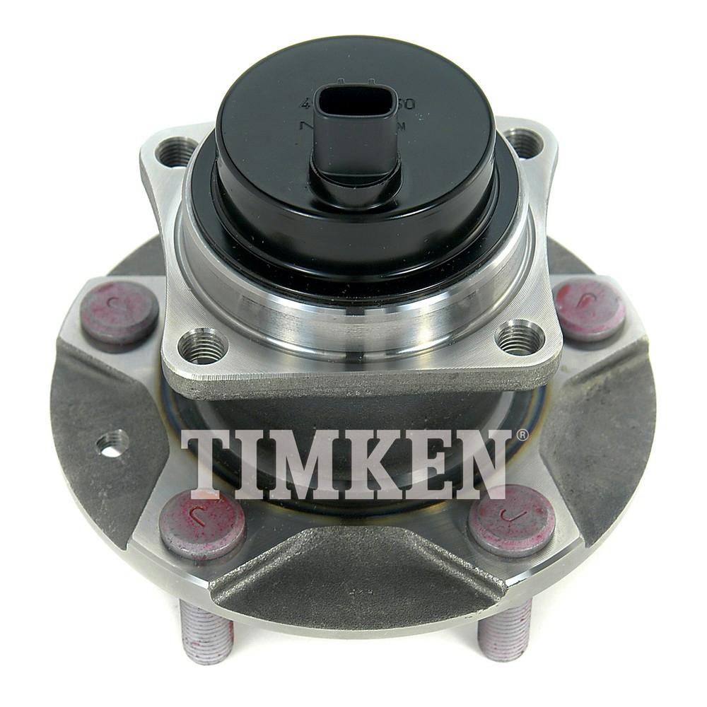 hight resolution of front wheel bearing and hub assembly fits 2004 2010 mazda rx 8