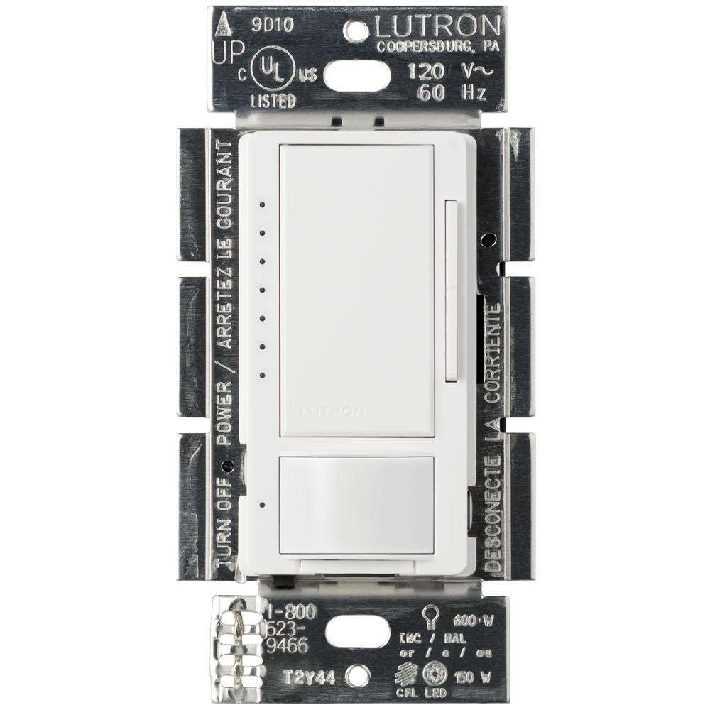 medium resolution of lutron maestro c l dimmer 1 5 amp motion sensor single pole and multi location