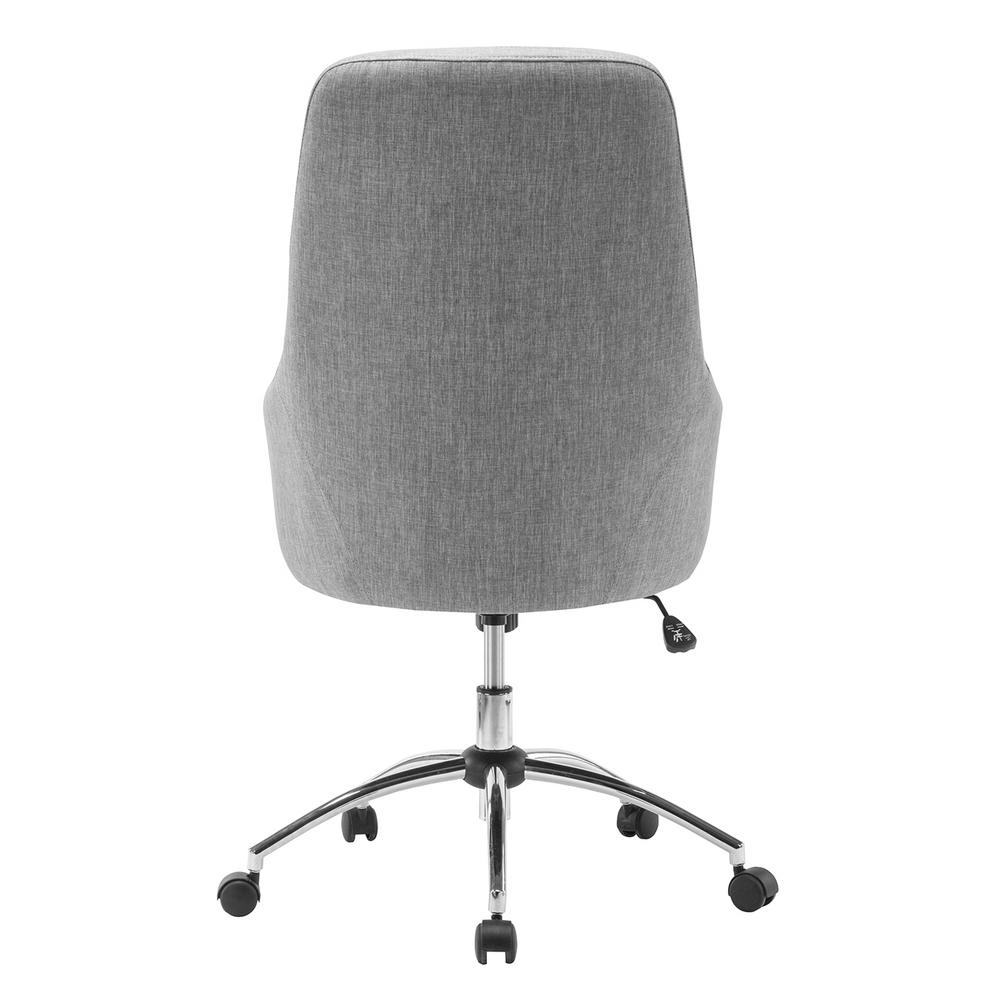 Cool Comfy Chairs Techni Mobili Gray Comfy Height Adjustable Rolling Office Desk