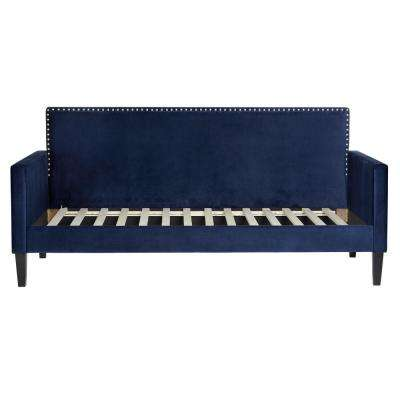 dalton sofa leon s chloe sectional daybeds bedroom furniture the home depot navy