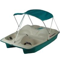 Sun Dolphin 5-Person Pedal Boat with Canopy-71553 - The ...