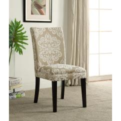 Parsons Chairs Samsonite Card Table And Set 4d Concepts Itaki Taupe Ivory Dining Chair 773021 The Home Depot