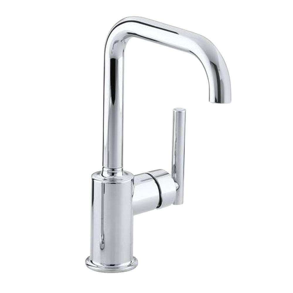 KOHLER Purist SingleHandle Standard Kitchen Faucet with