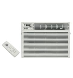 ge 24 000 btu 230 volt electronic heat cool room window air conditioner [ 1000 x 1000 Pixel ]