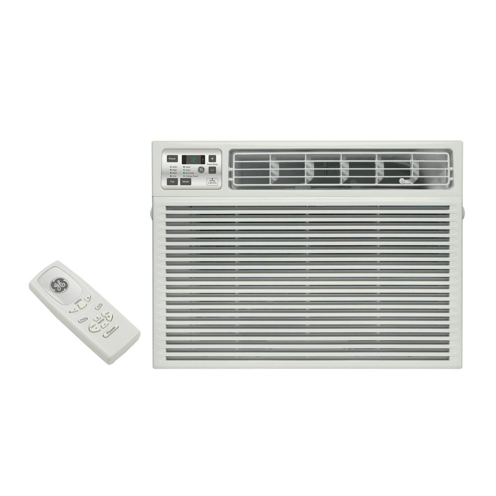 hight resolution of ge 24 000 btu 230 volt electronic heat cool room window air conditioner