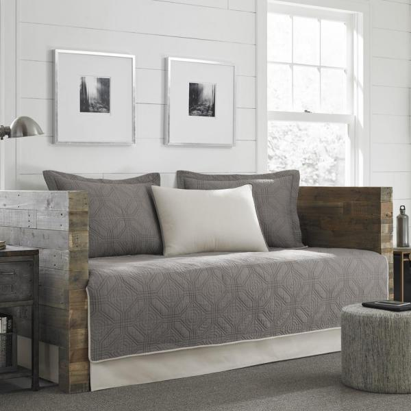 Eddie Bauer Axis 5-piece Grey Twin Reversible Daybed