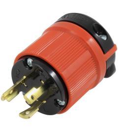 ac works ac connectors nema l6 20p 20 amp 250 volt 3 prong [ 1000 x 1000 Pixel ]