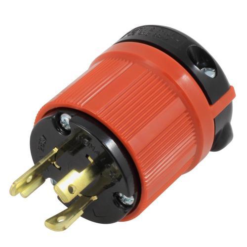 small resolution of ac works ac connectors nema l6 20p 20 amp 250 volt 3 prong assembly nema l6 20p plug wiring diagram l6 20r plug wiring