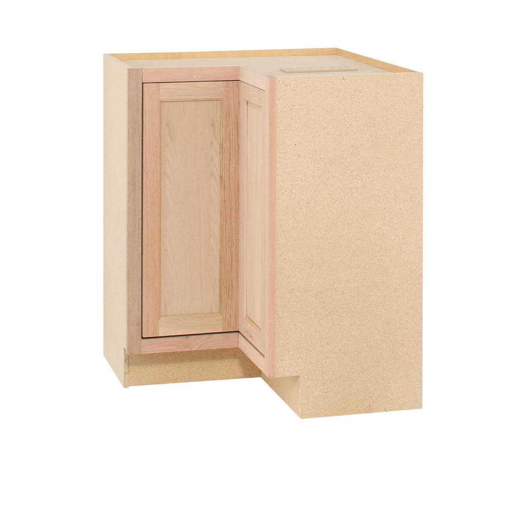 Assembled 28 5x34 5x16 5 In Lazy Susan Corner Base Kitchen Cabinet