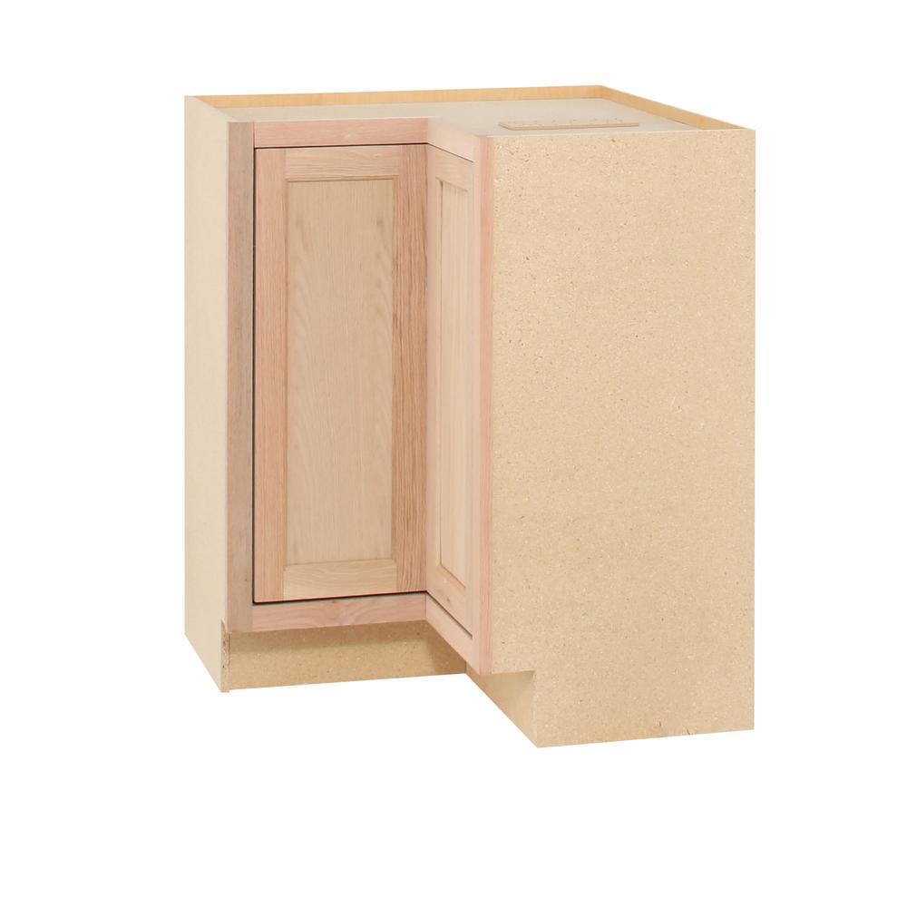 unfinished base kitchen cabinets denver assembled 28 5x34 5x16 5 in lazy susan corner cabinet