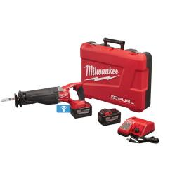 milwaukee m18 fuel one key 18 volt lithium ion brushless cordless sawzall reciprocating [ 1000 x 1000 Pixel ]