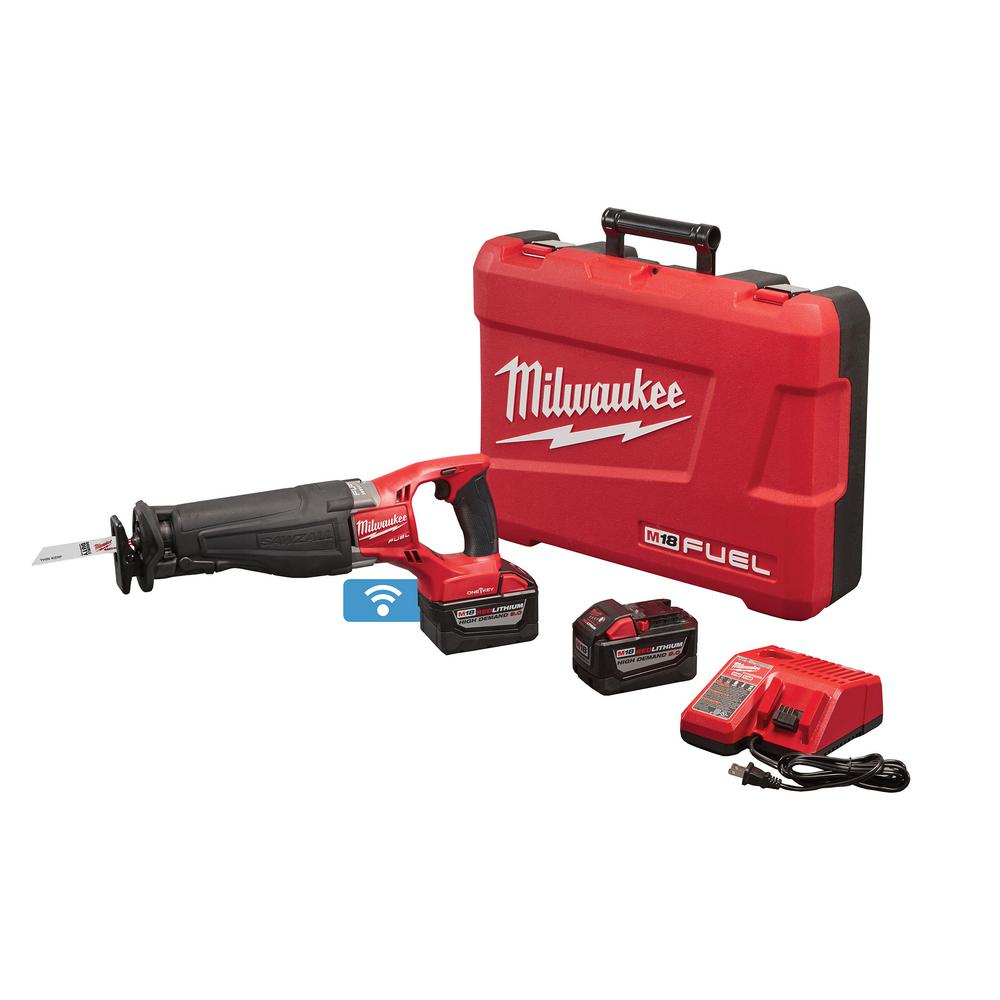 medium resolution of milwaukee m18 fuel one key 18 volt lithium ion brushless cordless sawzall reciprocating