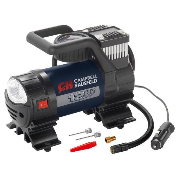 Campbell Hausfeld Mighty 150 Psi Lightweight 12-volt Portable Inflator Pump Air