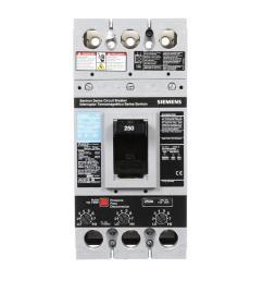 siemens 250 amp type fxd6 a triple pole circuit breaker [ 1000 x 1000 Pixel ]