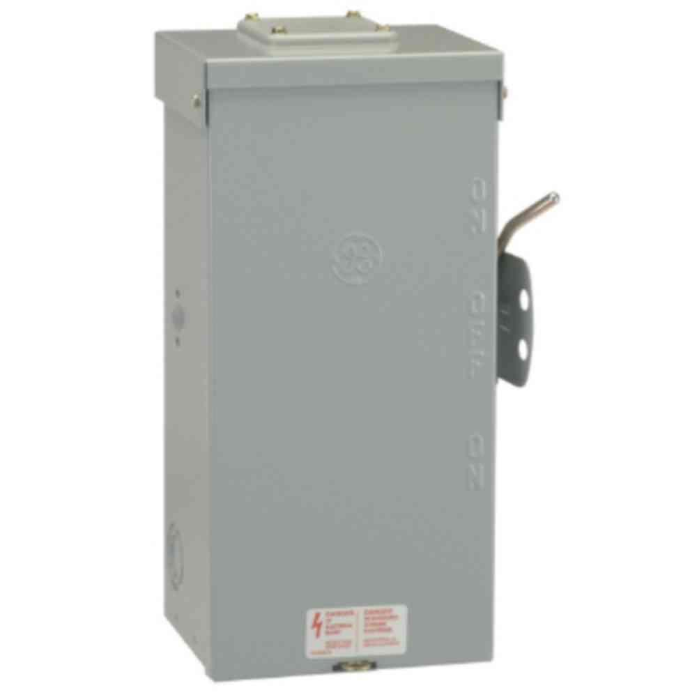 medium resolution of ge 100 amp 240 volt non fused emergency power transfer switch