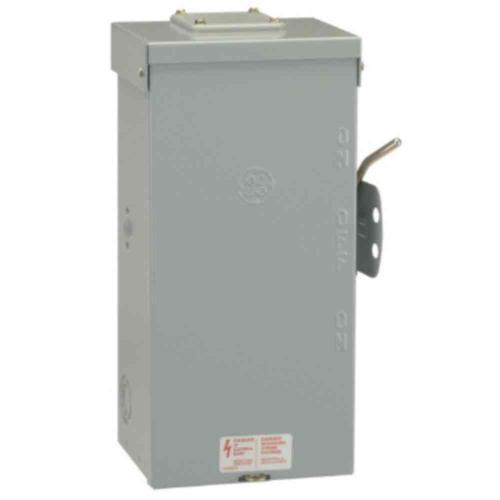 small resolution of ge 100 amp 240 volt non fused emergency power transfer switch