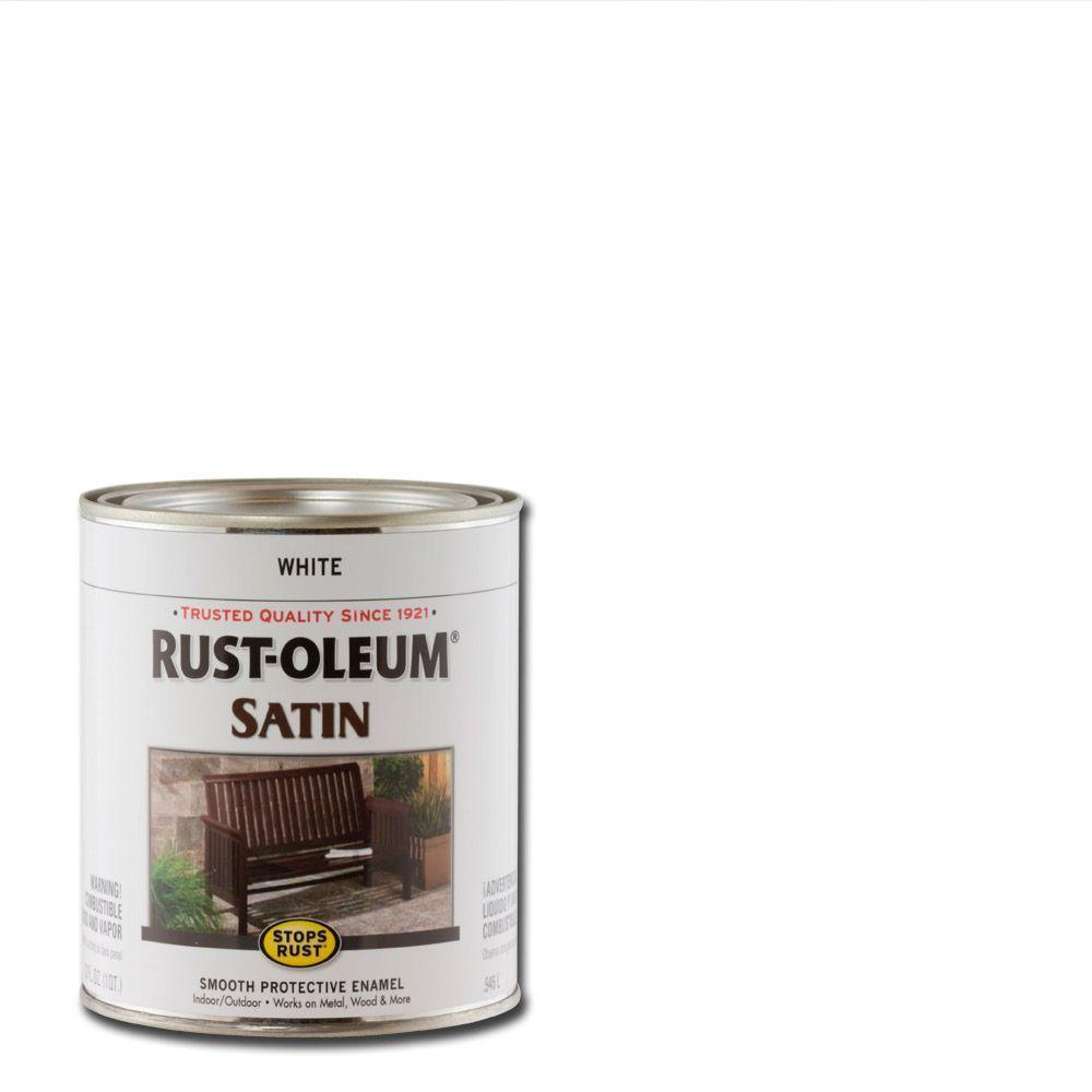 Rustoleum Protective Enamel On Wood