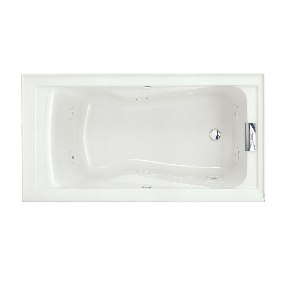 American Standard Evolution 60 In X 32 In Whirlpool Tub