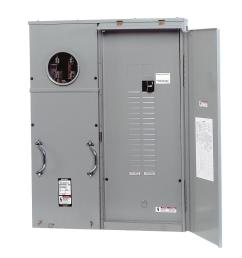 siemens 400 amp 30 space 42 circuit surface mount underground fed meter load center [ 1000 x 1000 Pixel ]