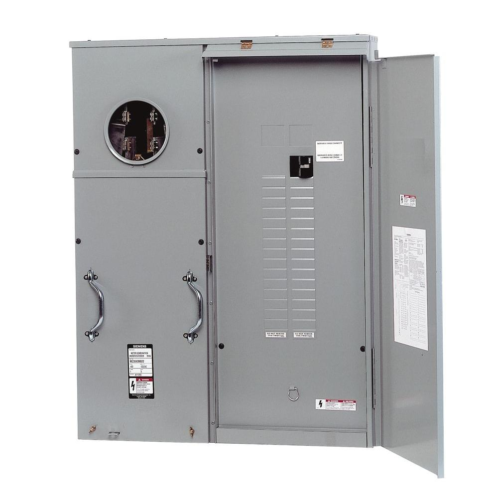 hight resolution of siemens 400 amp 30 space 42 circuit surface mount underground fed meter load center