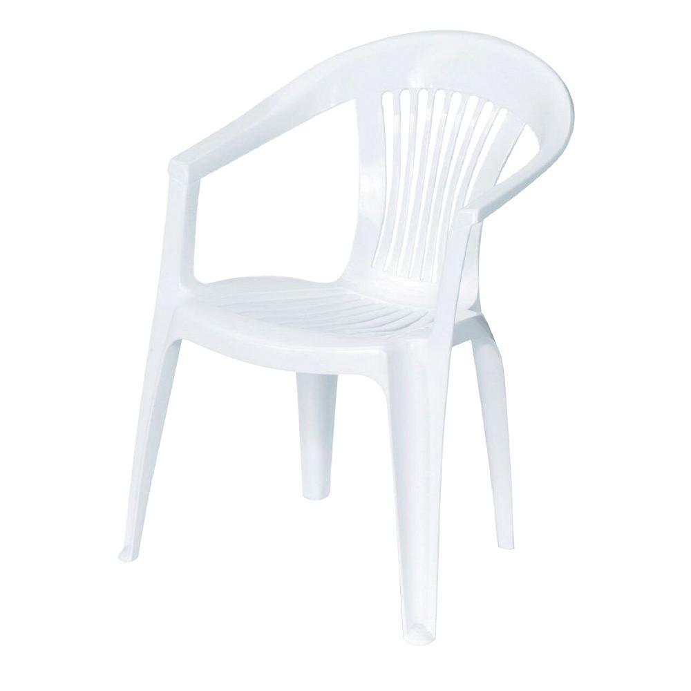 white plastic chairs swing chair with stand ikea generic unbranded backgammon patio 232981 the home depot