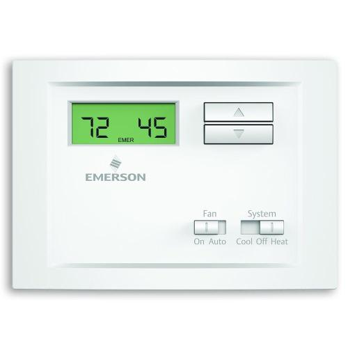 small resolution of single stage non programmable thermostat