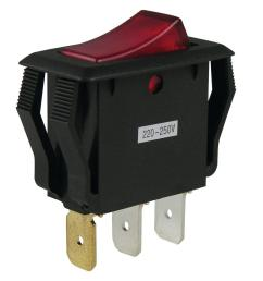 gardner bender 16 amp single pole rocker switch [ 1000 x 1000 Pixel ]