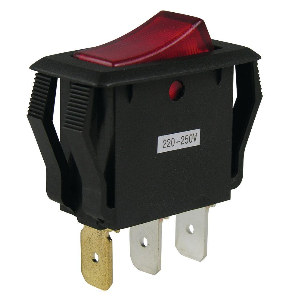 hight resolution of gardner bender 16 amp single pole rocker switch