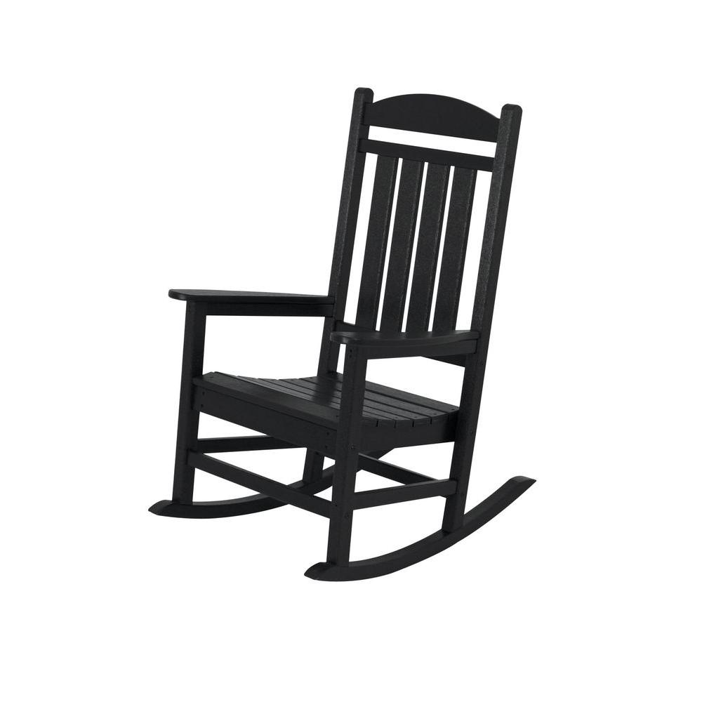 white rocking chairs for sale material to cover dining patio the home depot presidential black rocker