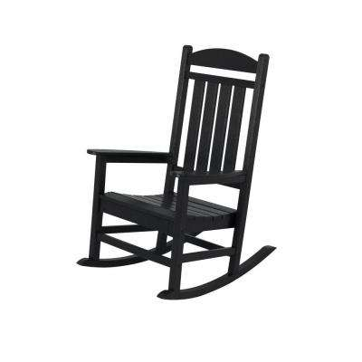 black patio chairs wedding tables and furniture the home depot presidential rocker
