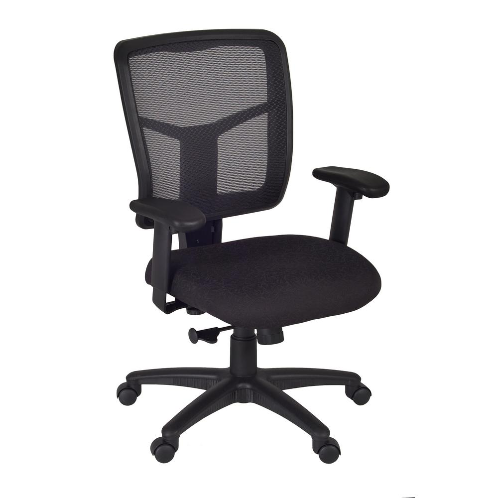 Regency Kiera Black Swivel Chair 5103bk The Home Depot