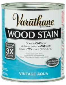 Varathane qt vintage aqua premium fast dry interior wood stain also rh homedepot