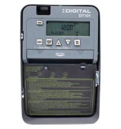 20 amp 24 hour spst 1 circuit digital time switch with indoor enclosure [ 1000 x 1000 Pixel ]